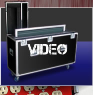 Estuche case, video, camara, camera, pantalla, tv, television, monitor, proyector, led